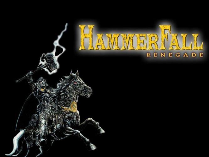 HAMMERFALL heavt metal album cover fantasy e wallpaper