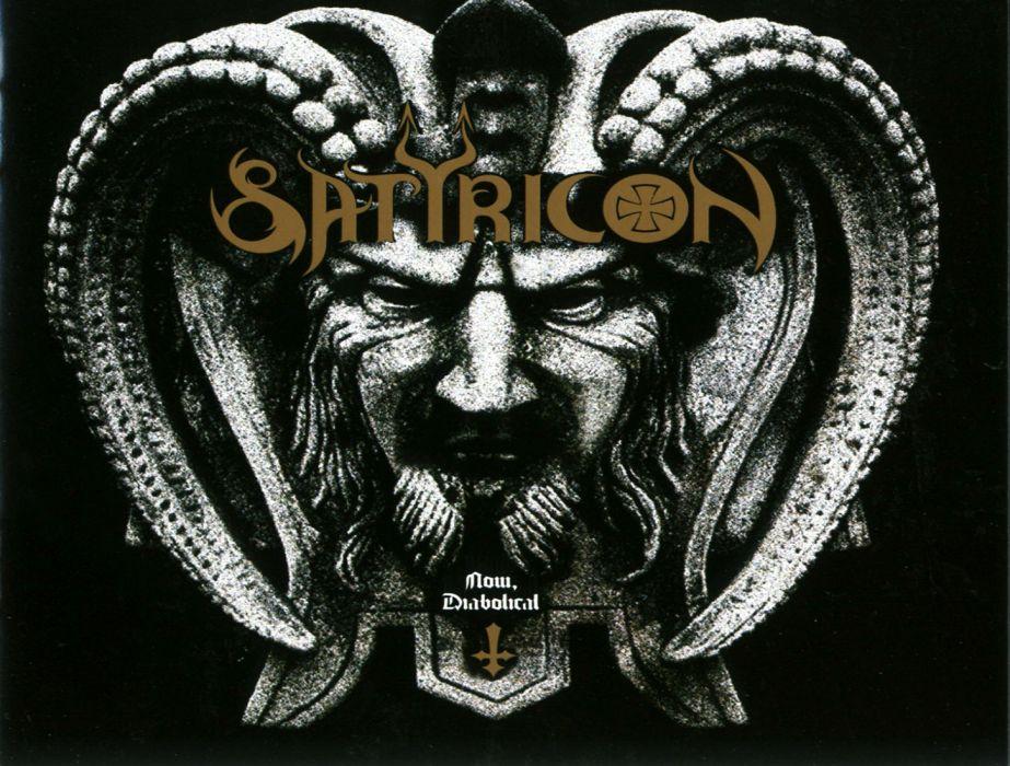SATYRICON norwegian black metal heavy album art cover dark   h wallpaper