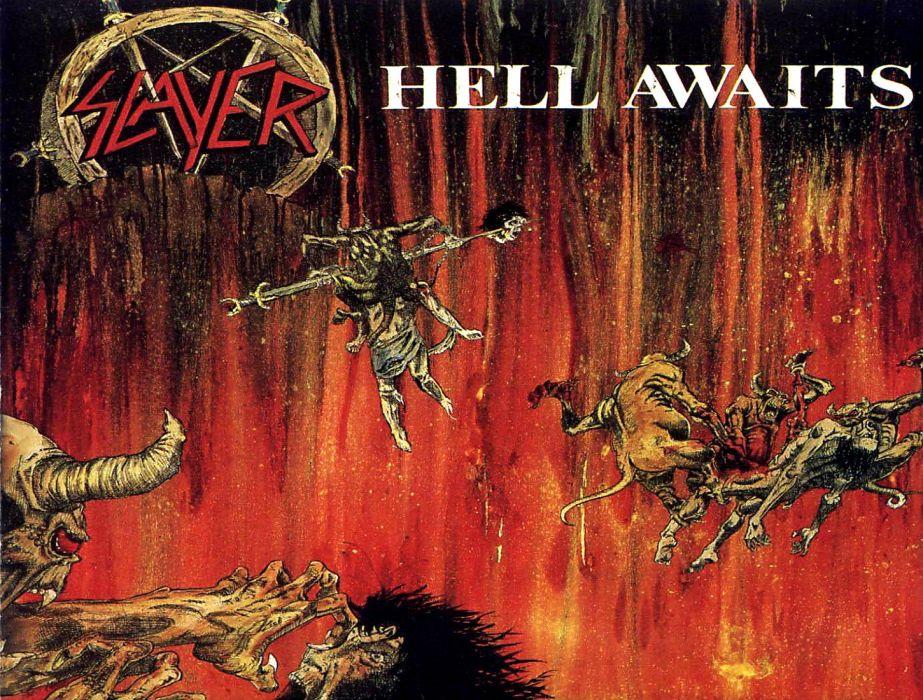 SLAYER death metal heavy album art cover dark    n wallpaper