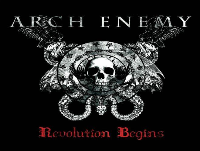 ARCH ENEMY technical power death metal heavy album art cover dark gz wallpaper