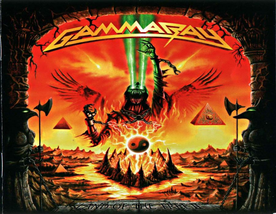 Gamma Ray Power Metal Heavy Album Art Cover Dark H Wallpaper