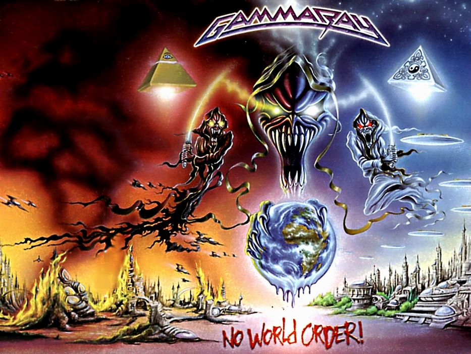 GAMMA RAY power metal heavy album art cover dark  g wallpaper