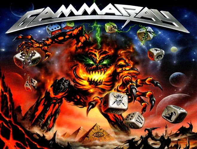 GAMMA RAY power metal heavy album art cover dark j wallpaper