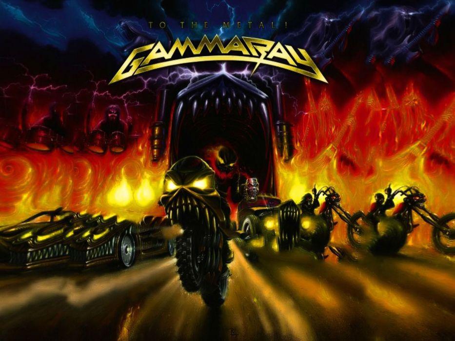 GAMMA RAY power metal heavy album art cover dark wallpaper