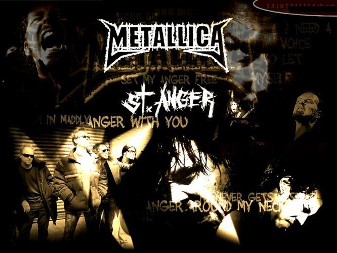 METALLICA thrash metal heavy album cover art cq wallpaper