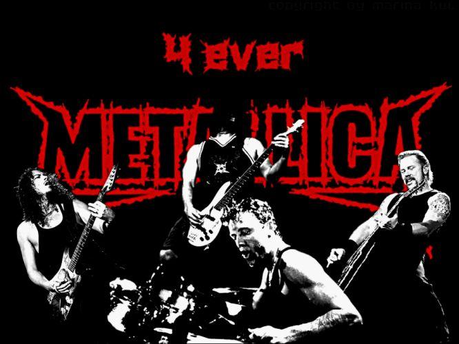 METALLICA thrash metal heavy album cover art f wallpaper