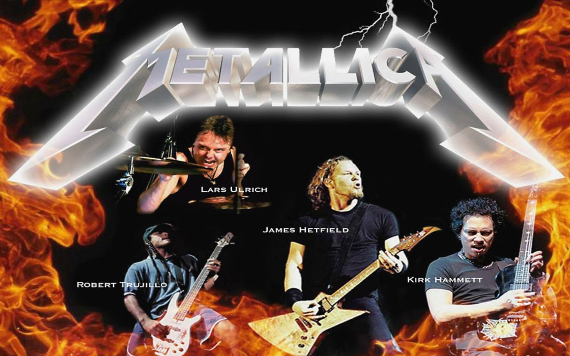 METALLICA thrash metal heavy album cover art      jo wallpaper