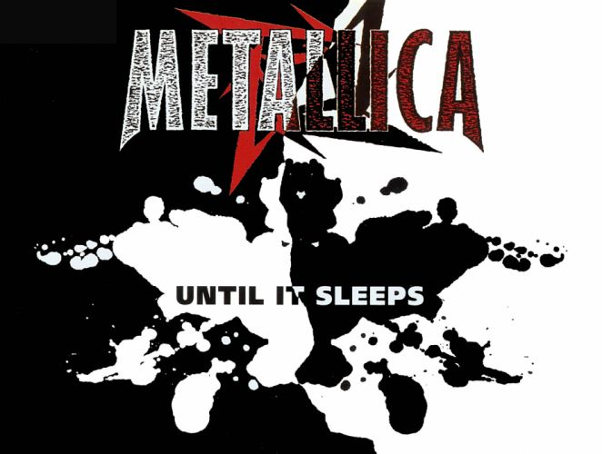 METALLICA thrash metal heavy album cover art hp wallpaper