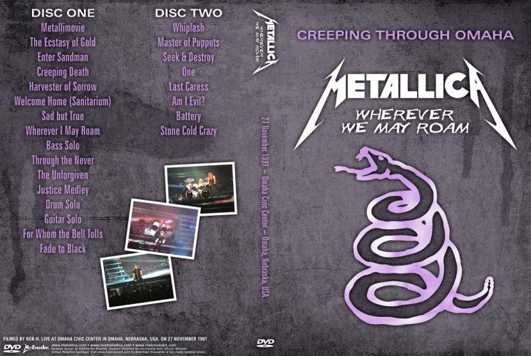 METALLICA thrash metal heavy album cover art concert concerts poster posters y wallpaper