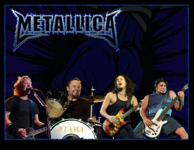 METALLICA thrash metal heavy album cover art concert concerts guitar guitars drums gv wallpaper