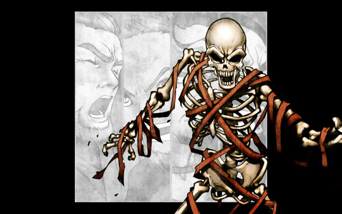 METALLICA thrash metal heavy album cover art dark skeleton wallpaper