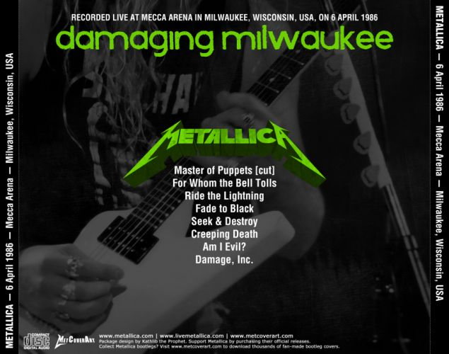 METALLICA thrash metal heavy album cover art poster posters rw wallpaper