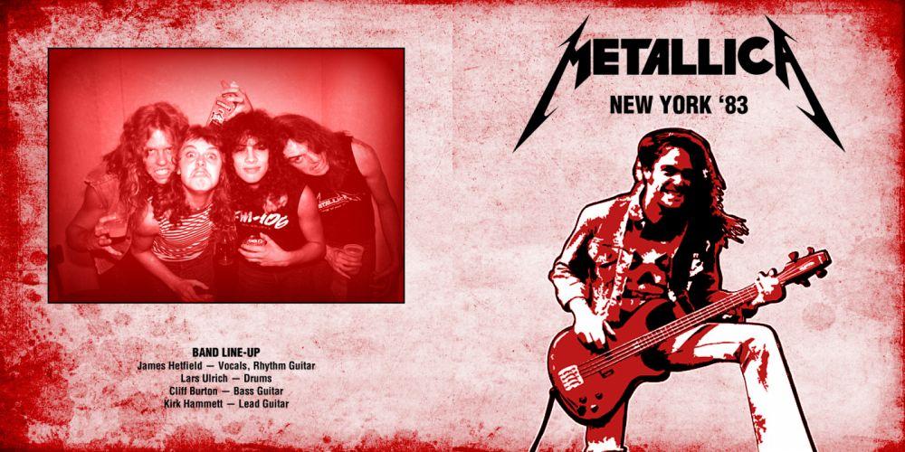 METALLICA thrash metal heavy album cover art poster posters gj wallpaper