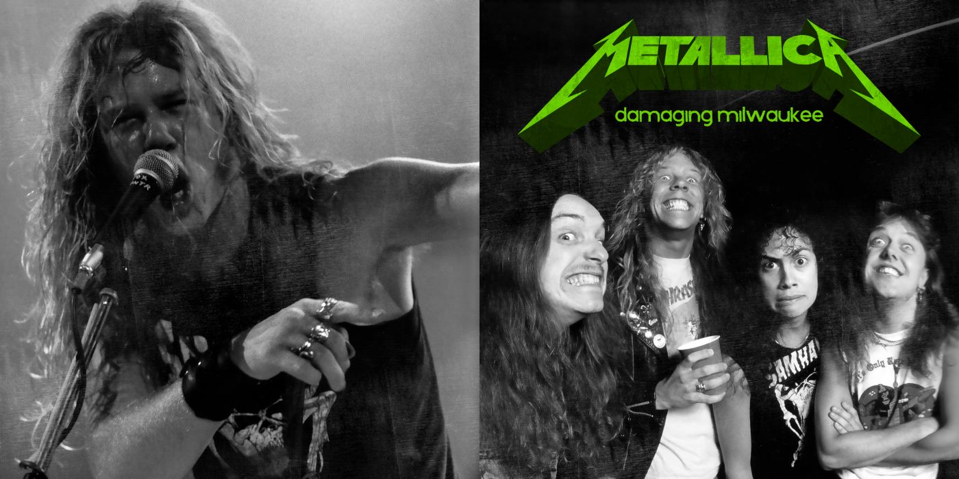 METALLICA thrash metal heavy album cover art poster posters      hs wallpaper