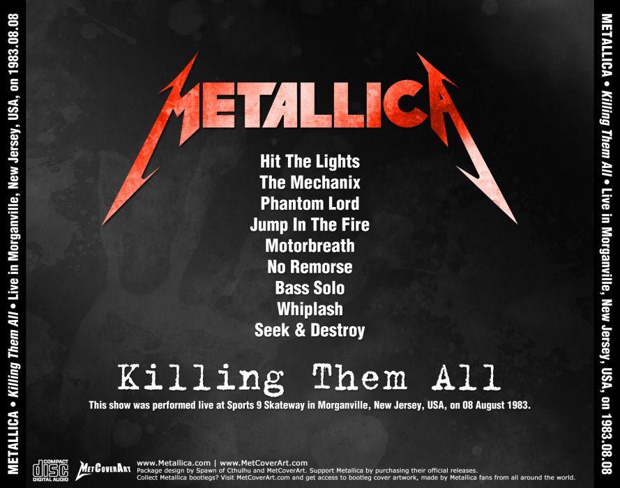 METALLICA thrash metal heavy album cover art poster posters     bq wallpaper