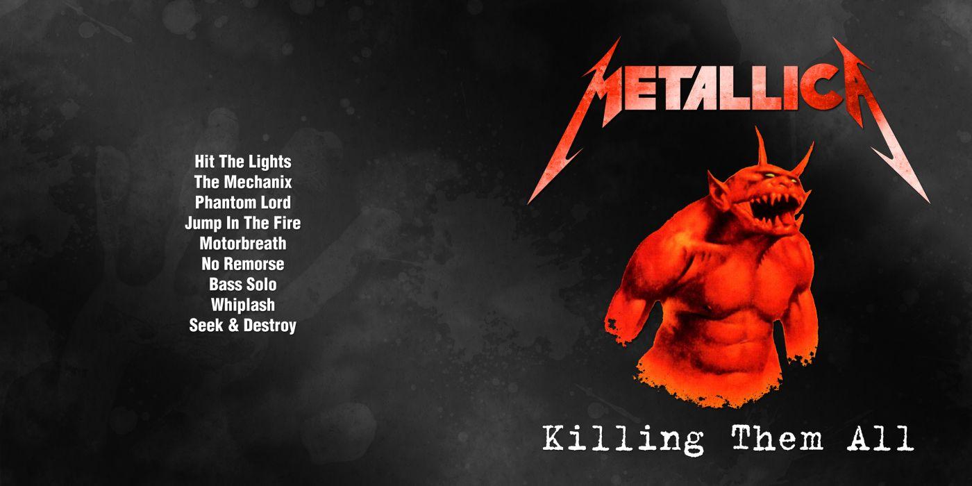 METALLICA thrash metal heavy album cover art poster posters dark wallpaper