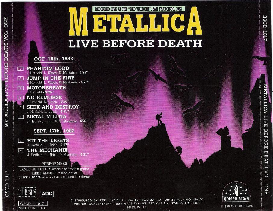 METALLICA thrash metal heavy album cover art poster posters gb wallpaper