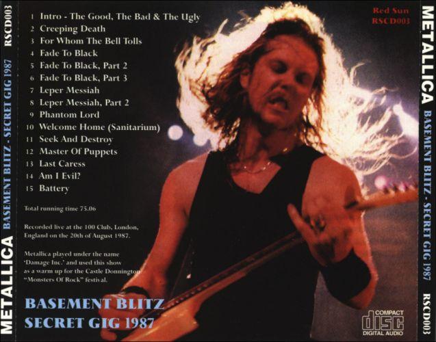 METALLICA thrash metal heavy album cover art poster posters e wallpaper