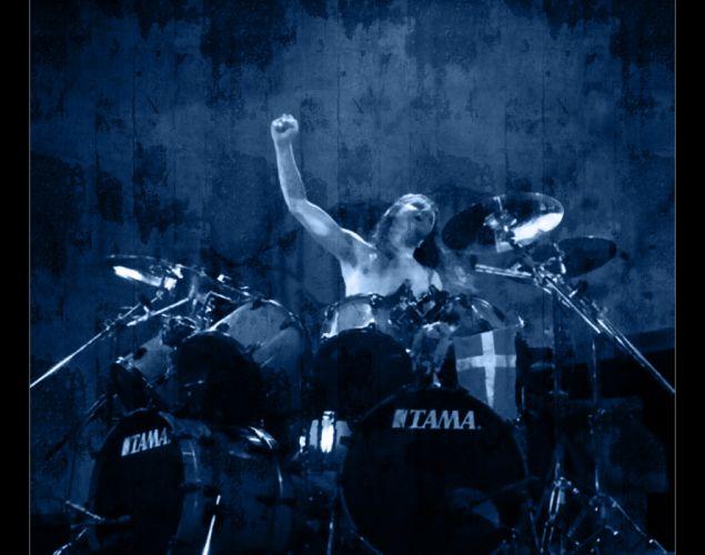 METALLICA thrash metal heavy album cover art drums concert concerts gh wallpaper