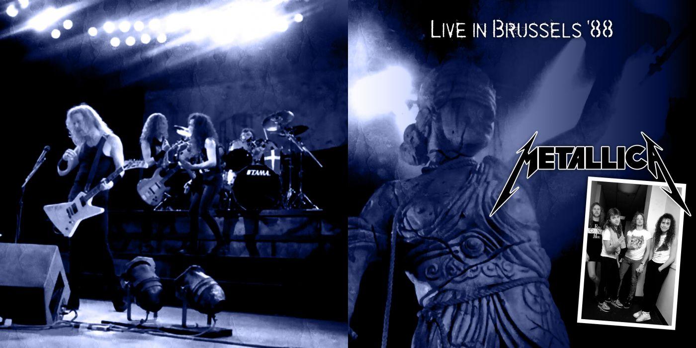 METALLICA thrash metal heavy album cover art poster posters concert concerts microphone guitar guitars   k wallpaper