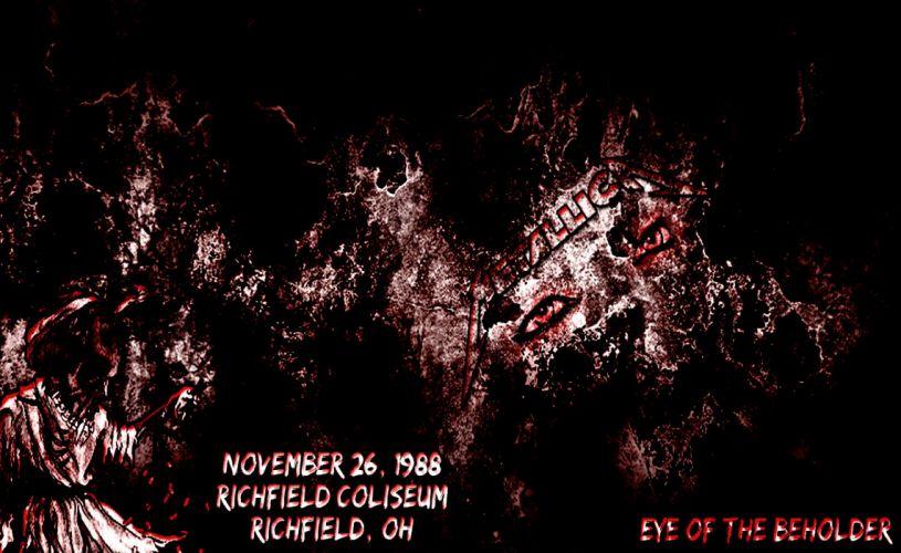 METALLICA thrash metal heavy album cover art posters poster dark skull skulls gb wallpaper
