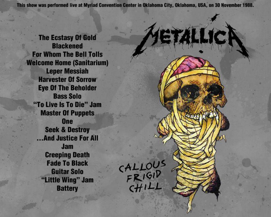 METALLICA thrash metal heavy album cover art posters poster