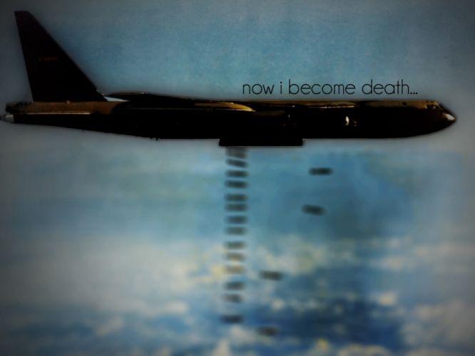 aircraft military bomber quotes b52 stratofortress dark bomb wallpaper