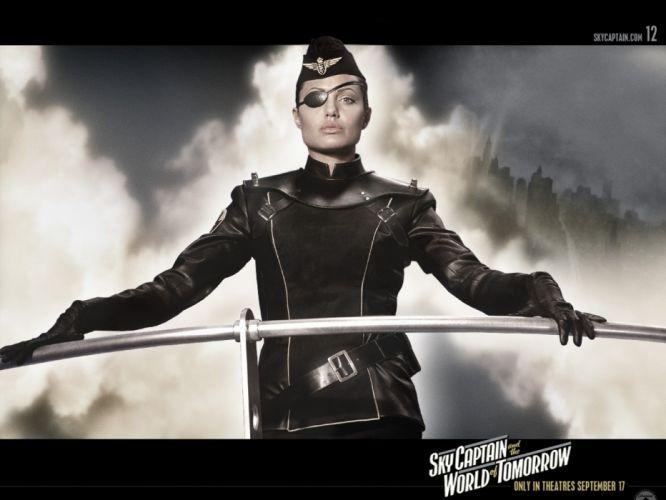 angelina jolie sky captain and the world of tomorrow wallpaper