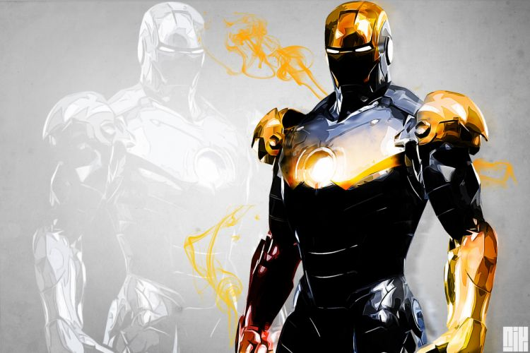 comics marvel red background iron man wallpaper