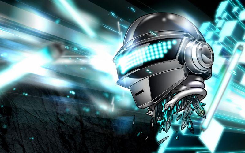 Daft Punk cyborg robot sci-fi j wallpaper