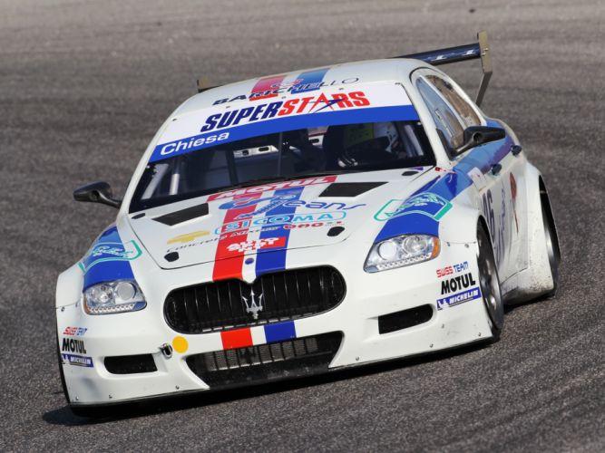 2009 Maserati Quattroporte SuperStars race racing g wallpaper