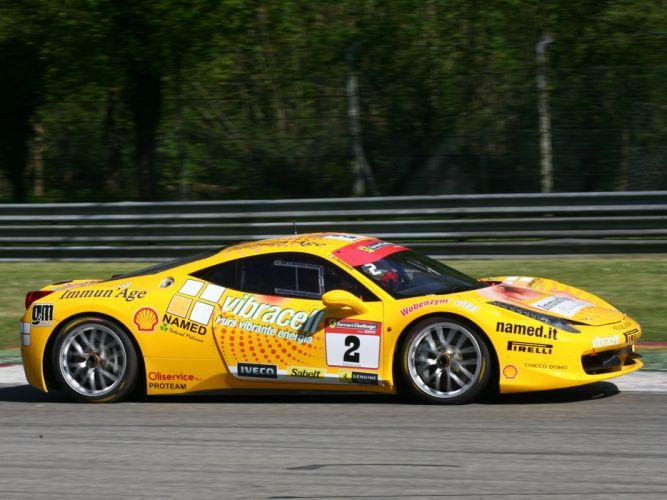 2010 Ferrari 458 Italia Challenge supercar supercars race racing g wallpaper
