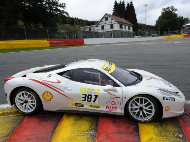 2010 Ferrari 458 Italia Challenge supercar supercars race racing wallpaper