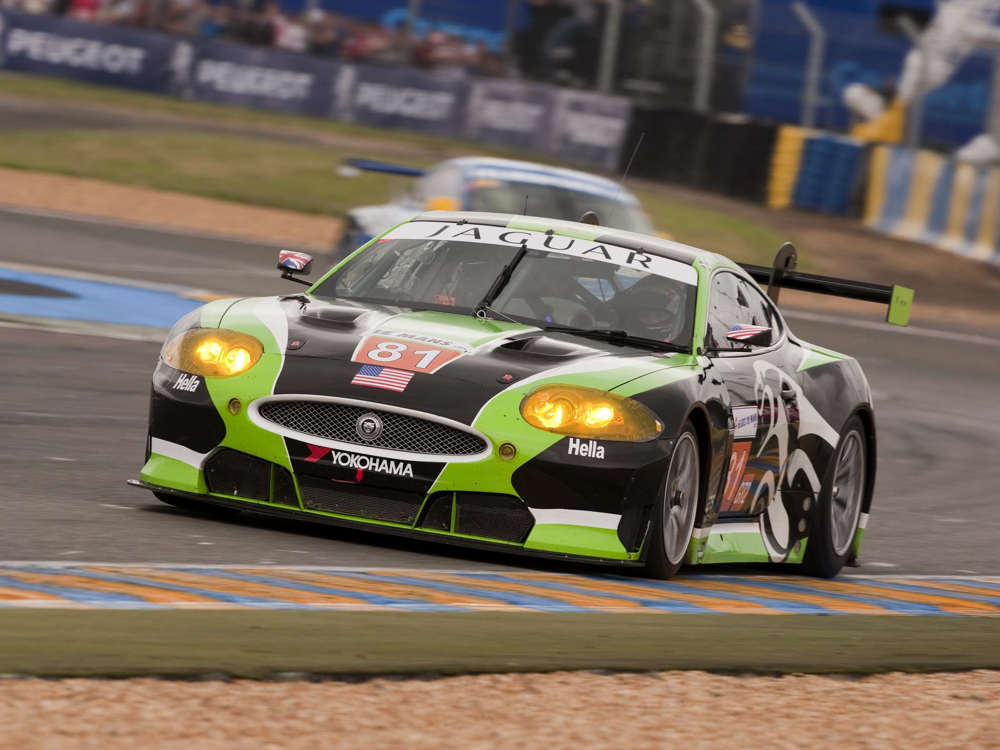 2010 Jaguar RSR XKR GT2 race racing supercar supercars tuning supercar supercars g wallpaper ...