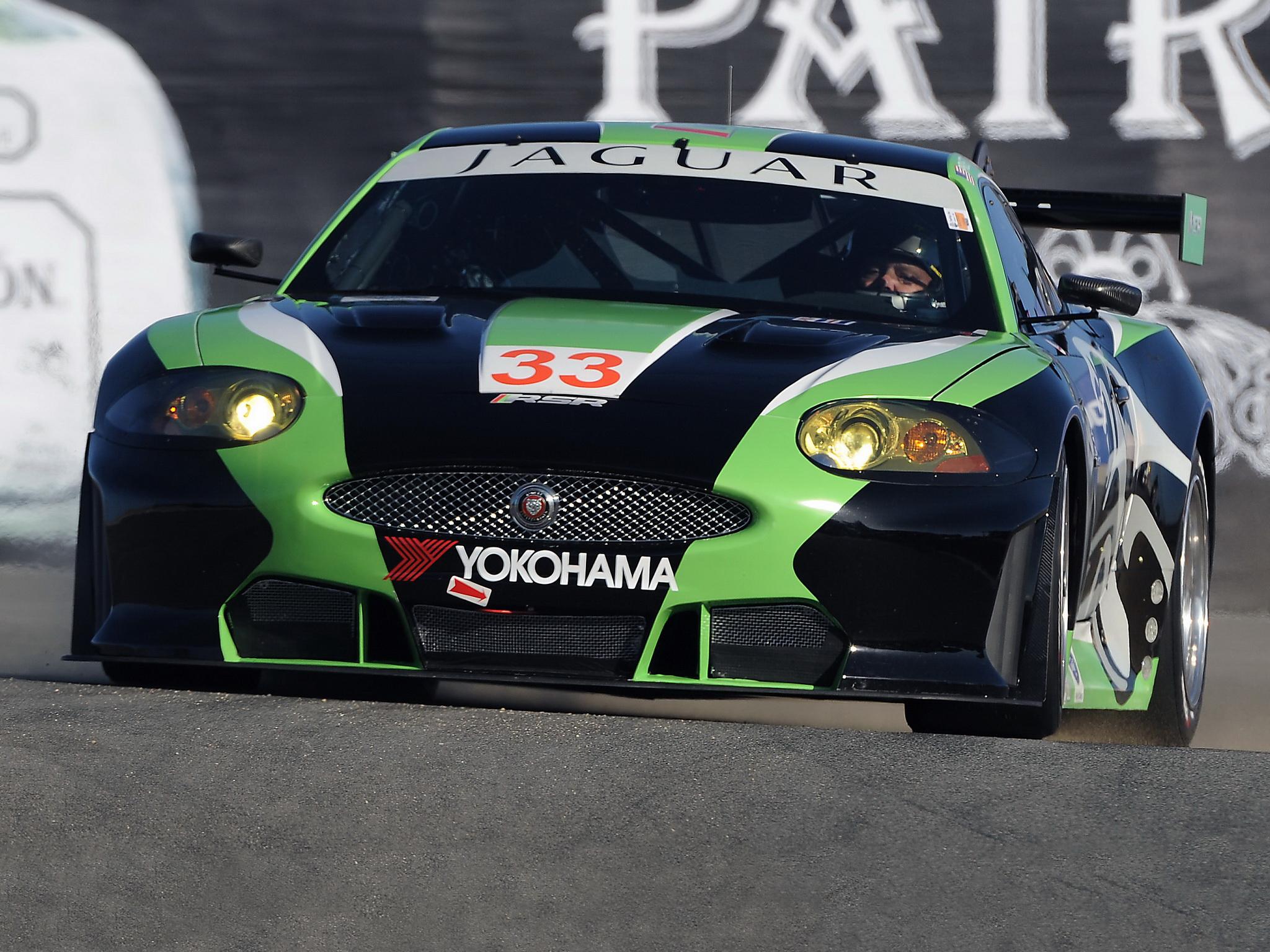 2010 Jaguar RSR XKR GT2 race racing supercar supercars ...
