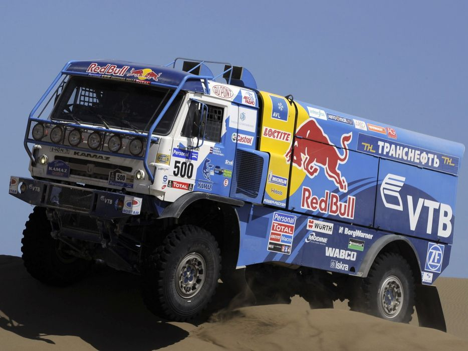 2010 Kamaz 4326-9 V-K dakar offroad 4x4 race racing truck    g wallpaper