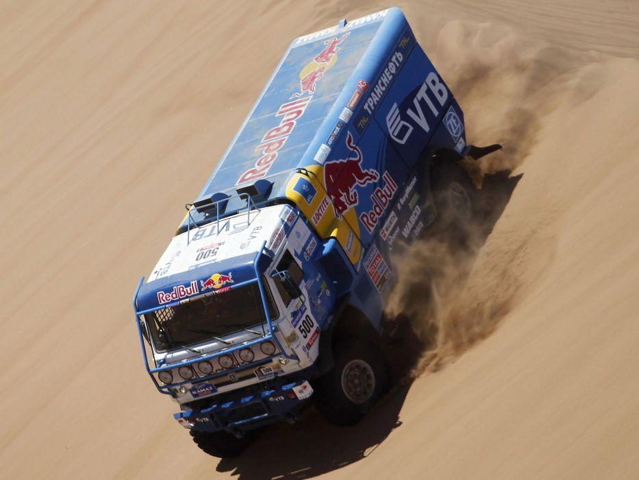 2010 Kamaz 4326-9 V-K dakar offroad 4x4 race racing truck    gs wallpaper