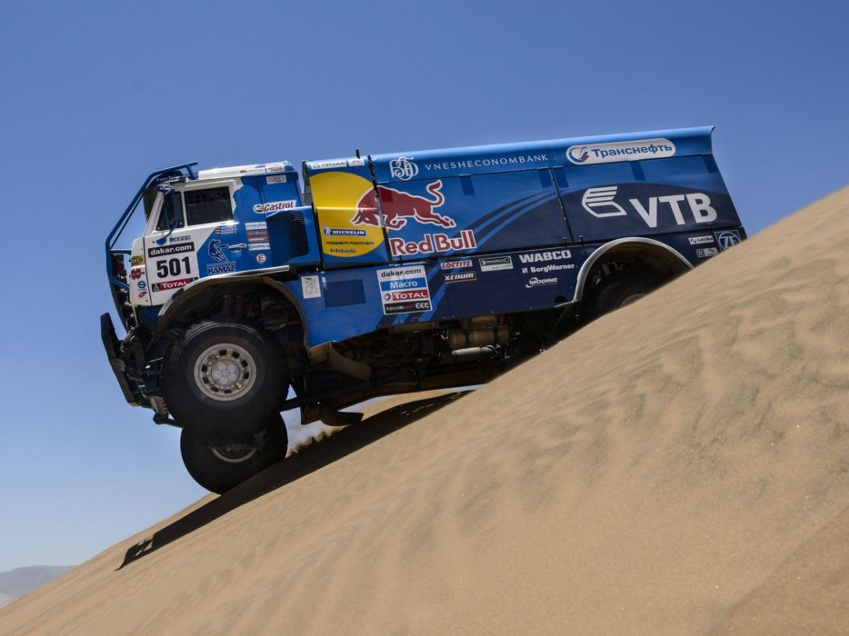 2010 Kamaz 4326-9 V-K dakar offroad 4x4 race racing truck wallpaper