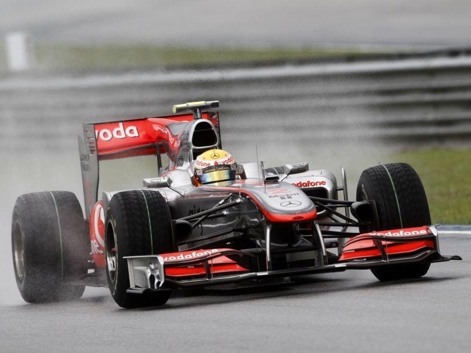 2010 McLaren Mercedes Benz MP4-25 formula-1 formula f-1 race racing one   h wallpaper
