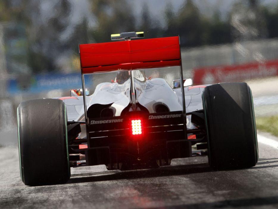 2010 McLaren Mercedes Benz MP4-25 formula-1 formula f-1 race racing one wallpaper