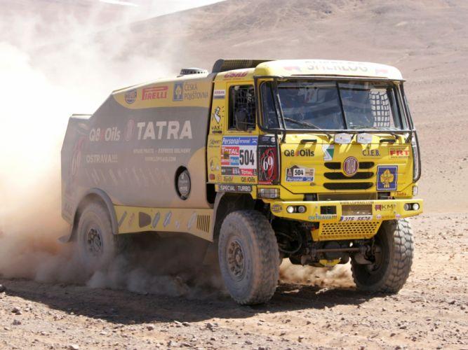 2010 Tatra T815 4x4 Rally Truck offroad race racing truck f wallpaper