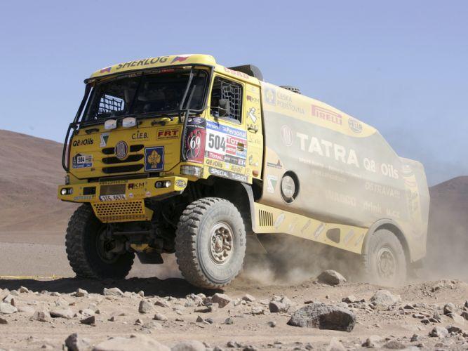 2010 Tatra T815 4x4 Rally Truck offroad race racing truck fs wallpaper