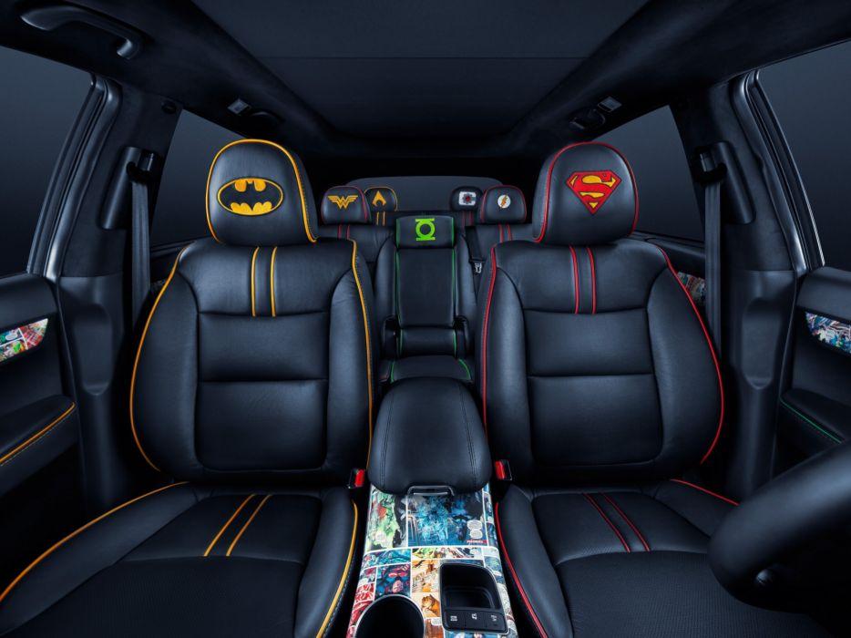 2014 Kia Sorento Justice League Concept superhero tuning superman suv interior batman wallpaper