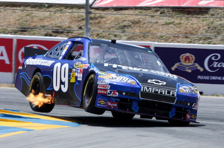 NASCAR race racing fire wheel wheels wallpaper