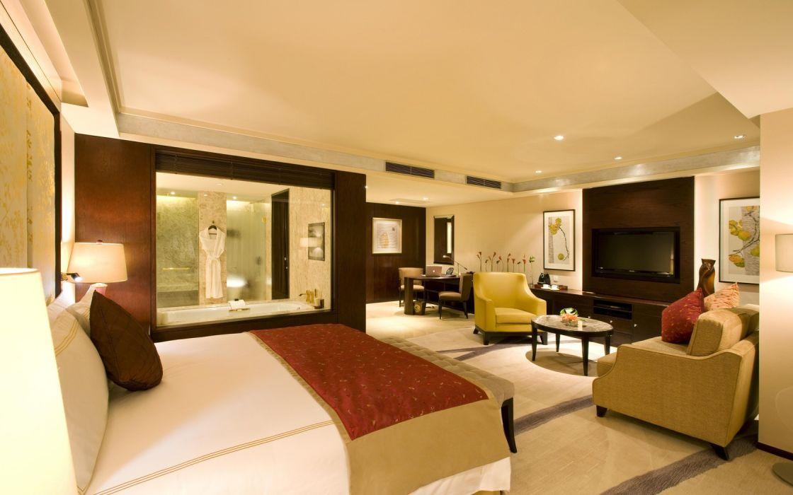 Architecture Interior Bed Room wallpaper
