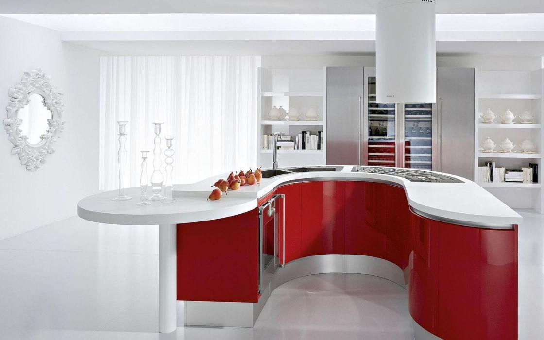 Architecture Interior Kitchen wallpaper
