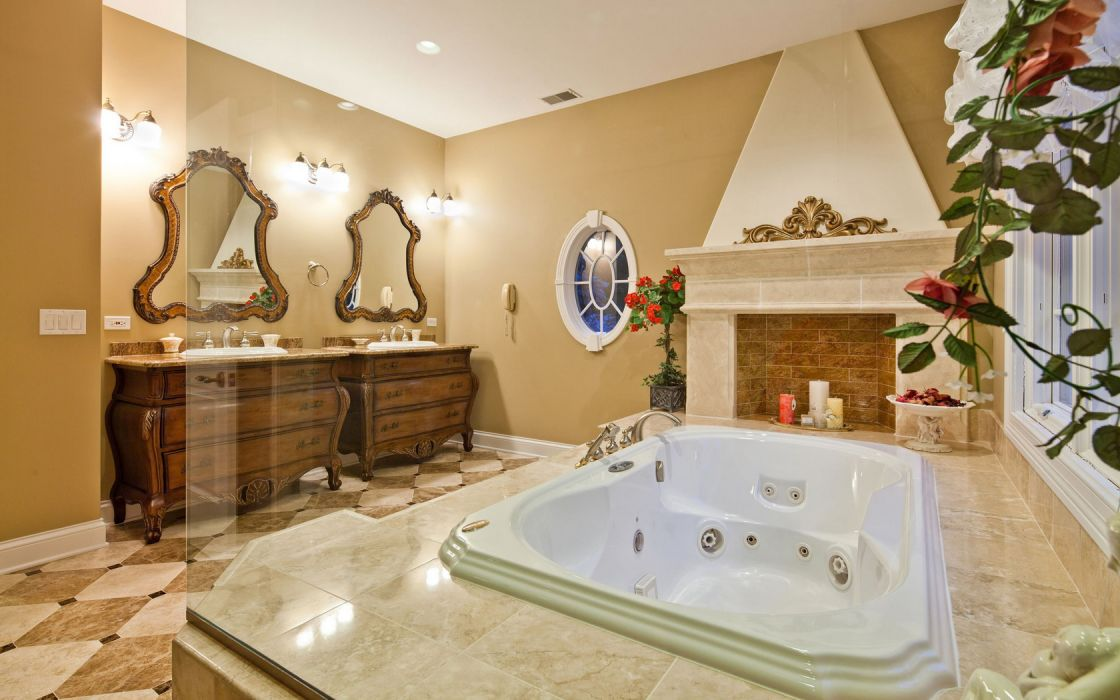 Architecture Interior Bath Room wallpaper