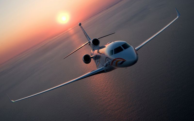 Private aircraft wallpaper