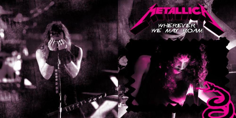 METALLICA thrash metal heavy album cover art concert concerts d wallpaper
