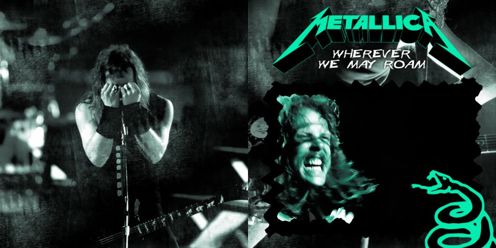 METALLICA thrash metal heavy album cover art concert concerts ge wallpaper